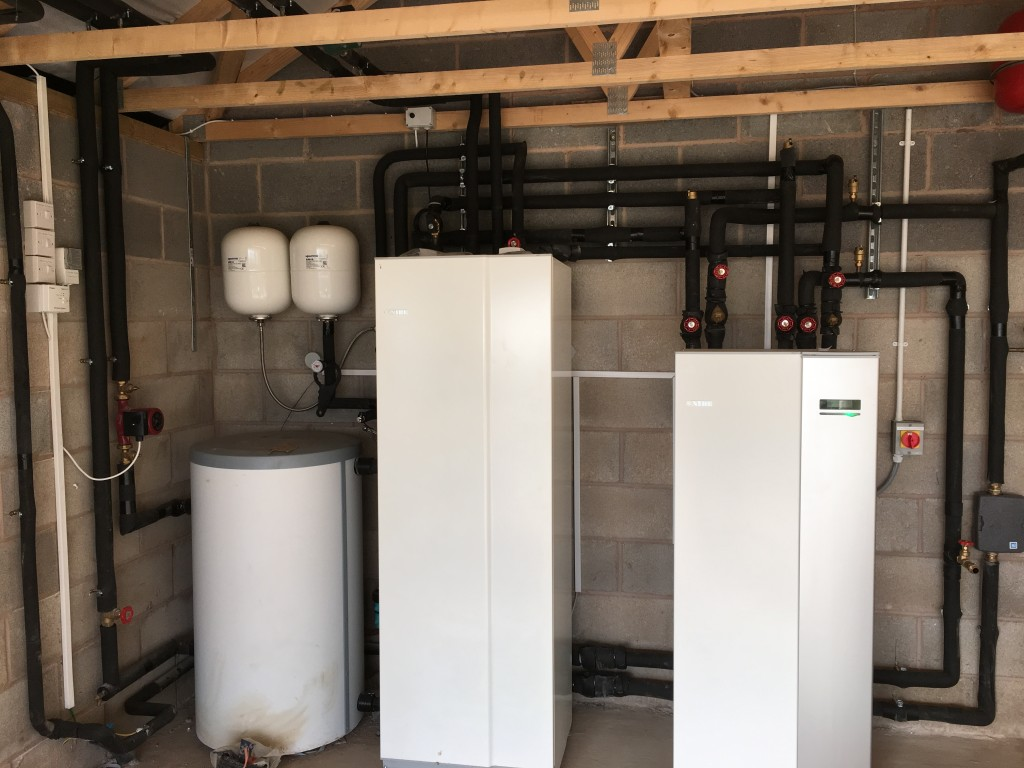 12 KW NIBE Ground Source Heat Pump